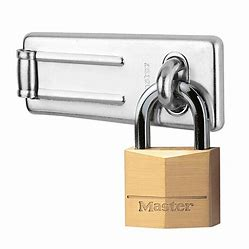 Hasp and padlock