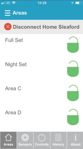 App Controlled Alarm